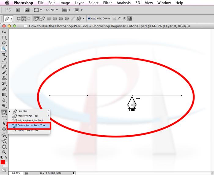 Photoshop pen tool tutorial