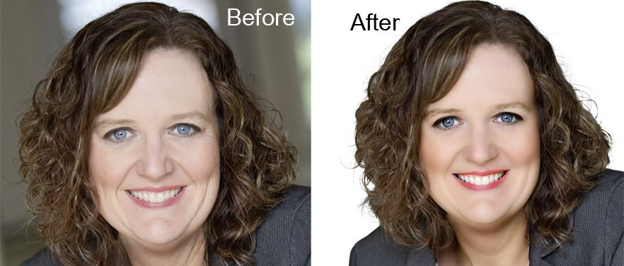 Complex Clipping Path With Hair Masking