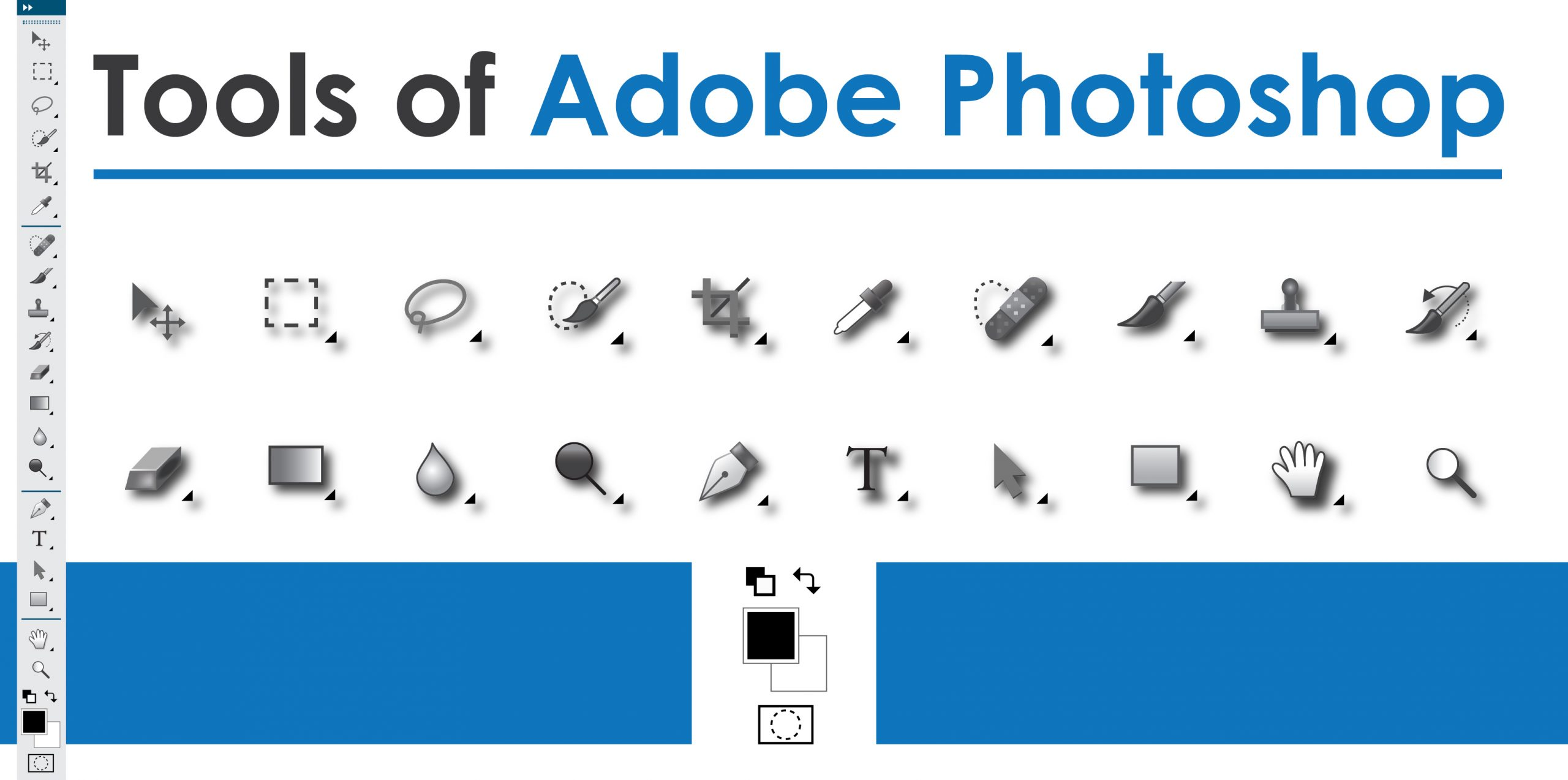 Tools of Adobe Photoshop