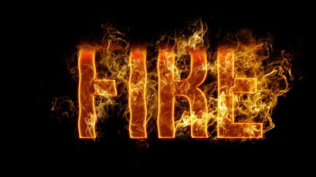 Fire-Text-Effect