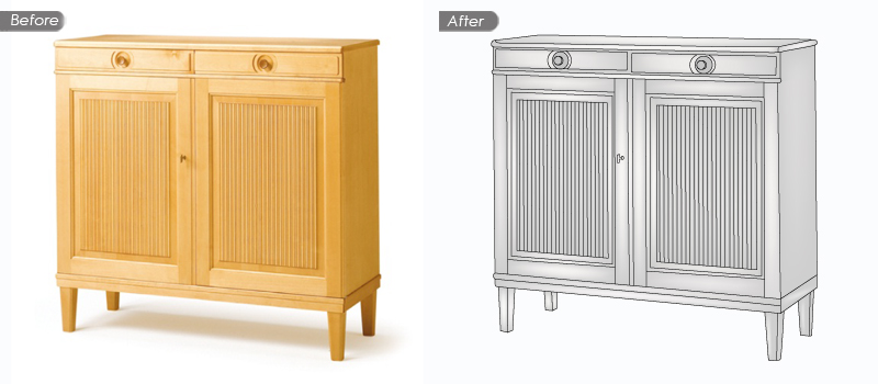 cabinet before and after