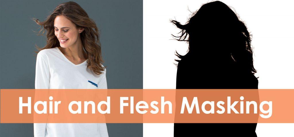hair and flesh masking