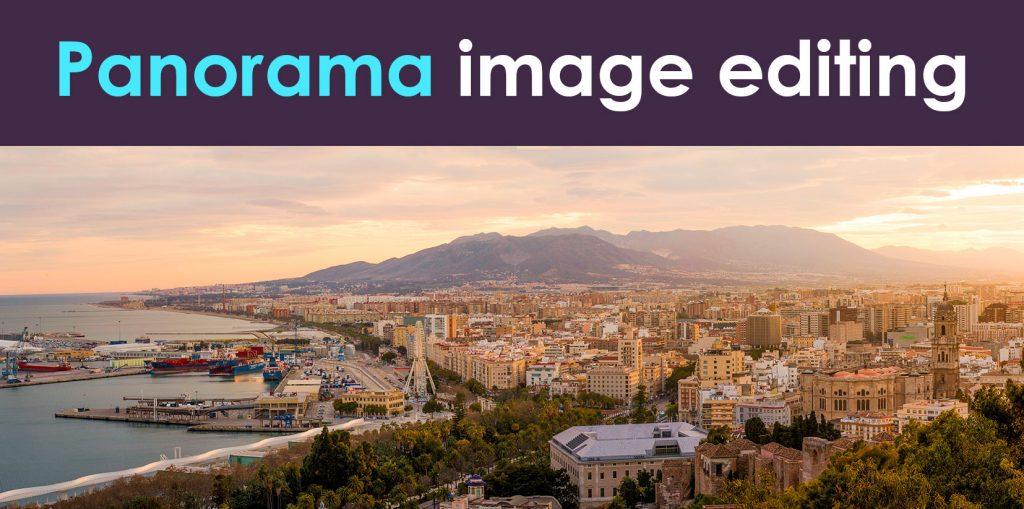 Panorama-image-editing