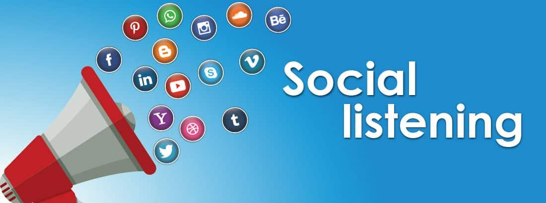 Use social listening strategies
