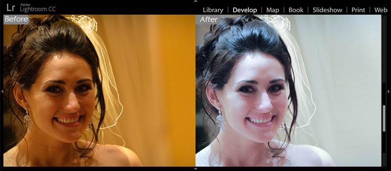 Photoshop Lightroom Photo Editing - Wedding Photo Retouching