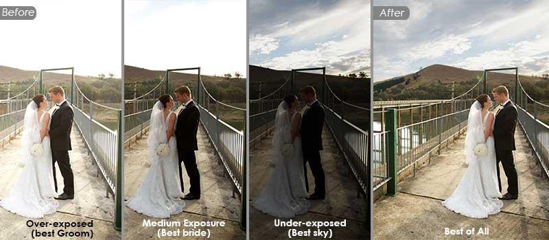 HDR Photo Editing - Wedding Photo Retouching