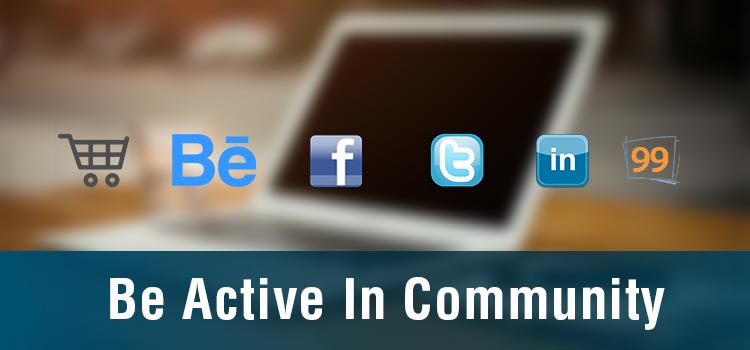 Be Active In Community