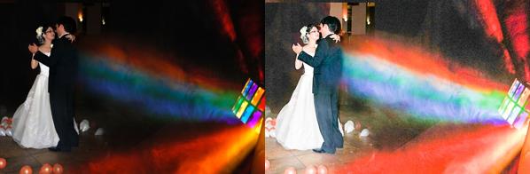 Wedding Photo HDR Effect