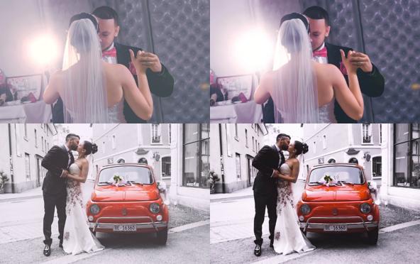 Wedding Photo Sharpening & Noise Reduction
