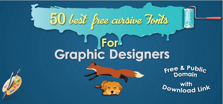 50 best free Cursive fonts-02