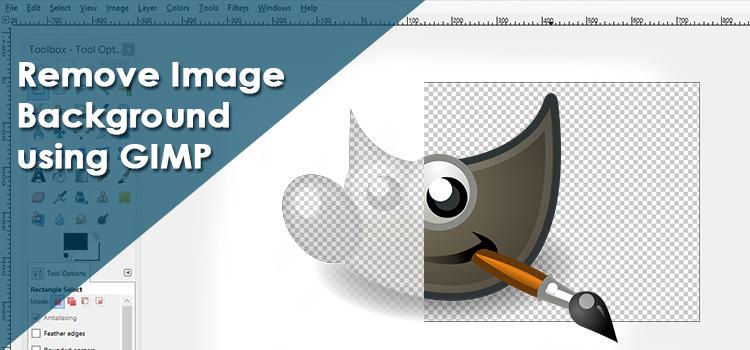 Remove Image Background using GIMP