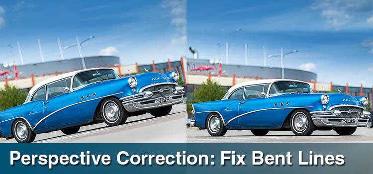 Perspective Correction Fix Bent Lines