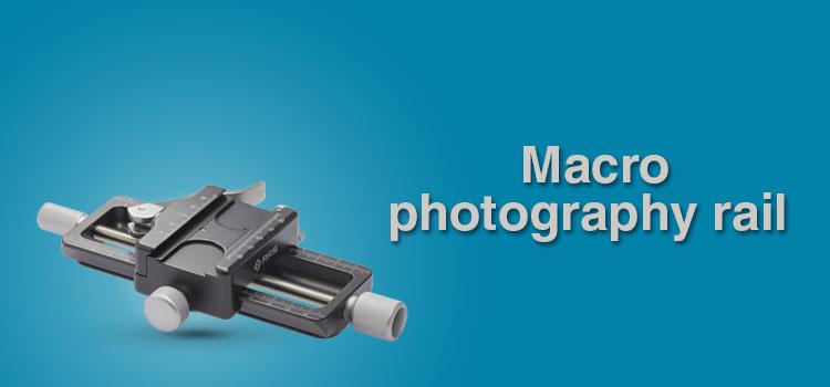 Macro photography rail