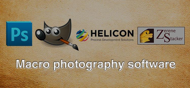 Macro photography software
