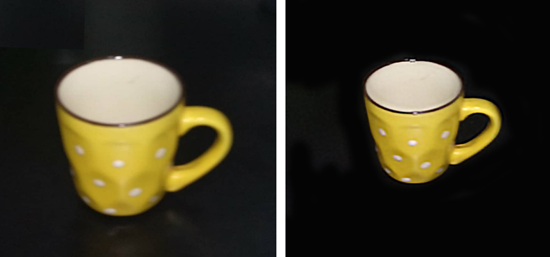 Before and After final output