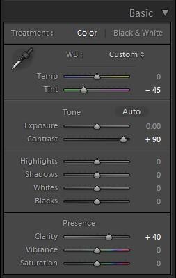 X-pro II Lightroom preset