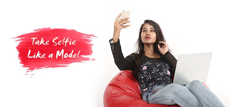 Take Selfie like a model