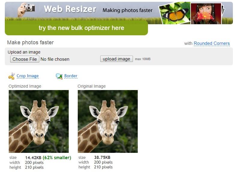 Web Photo Resizer