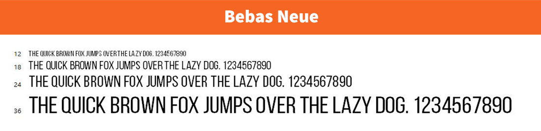 Bebas Neue-free font