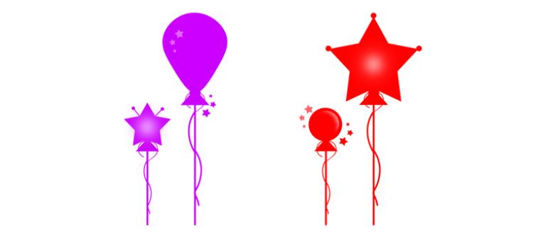 Air Balloon Brushes