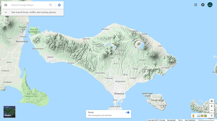 5.1 - Use tarrin view of google maps
