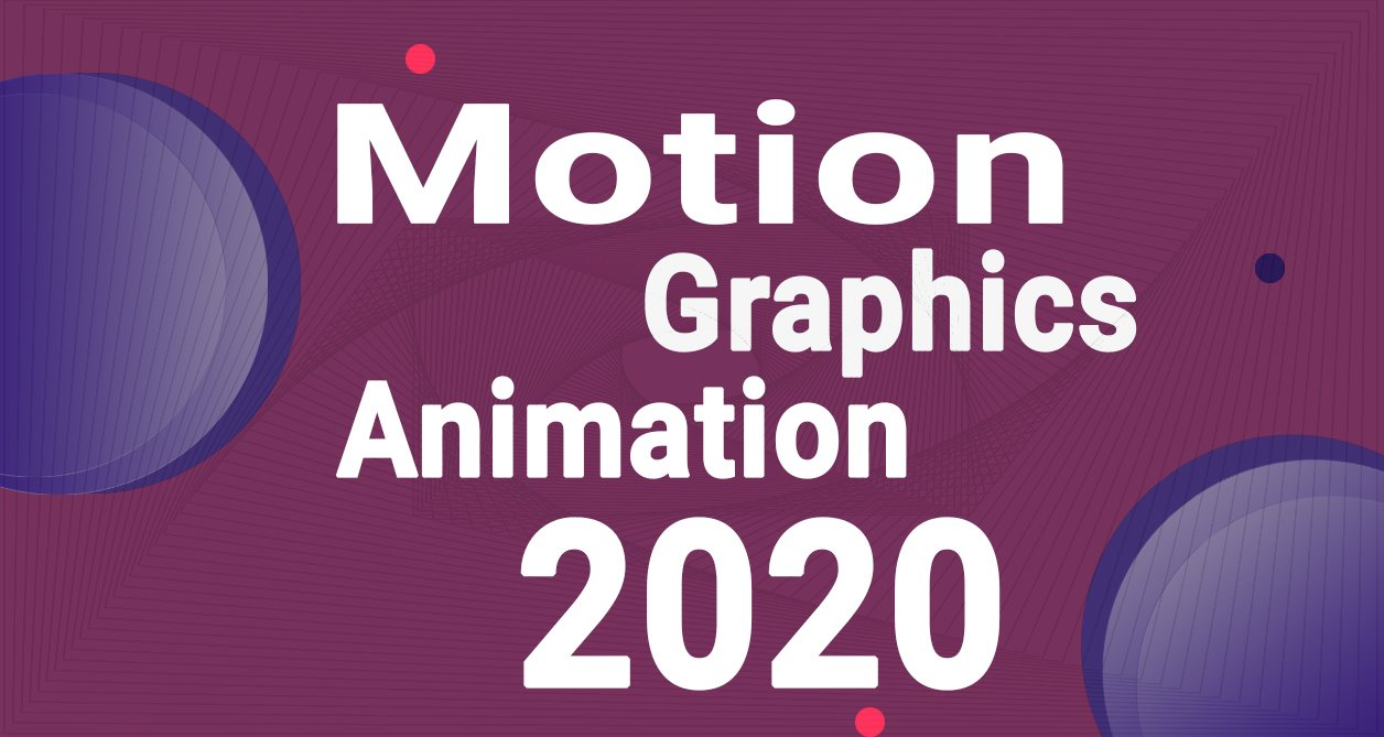 Banner Motion Graphics and Animation 2020