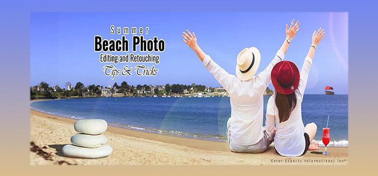 Beach Photo Editing and Retouching