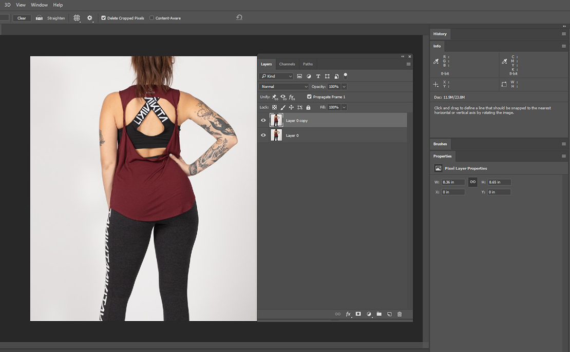Image 1-removing tattoo in Photoshop