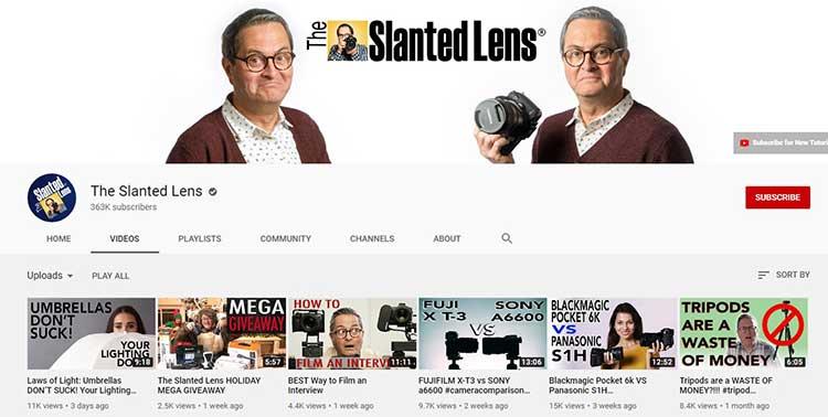 the-slanted-lens