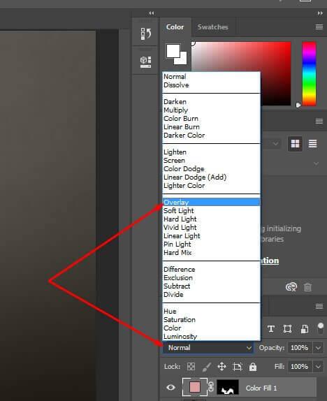 blending option overlay