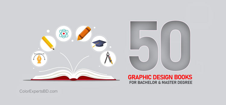 50 graphic design books bachelor masters degrees