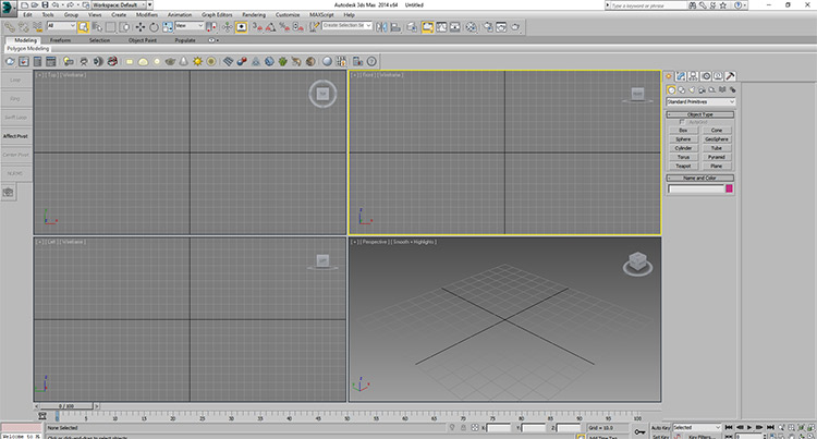 3DS Max for 3D modeling