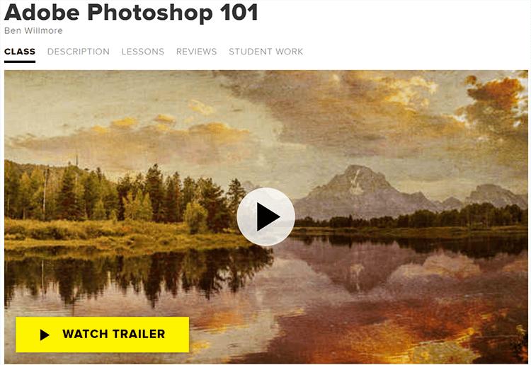 Adobe Photoshop 101