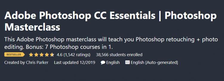 Adobe Photoshop CC Essentials