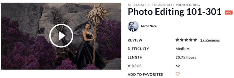 PHLEARN Photo Editing 101-301