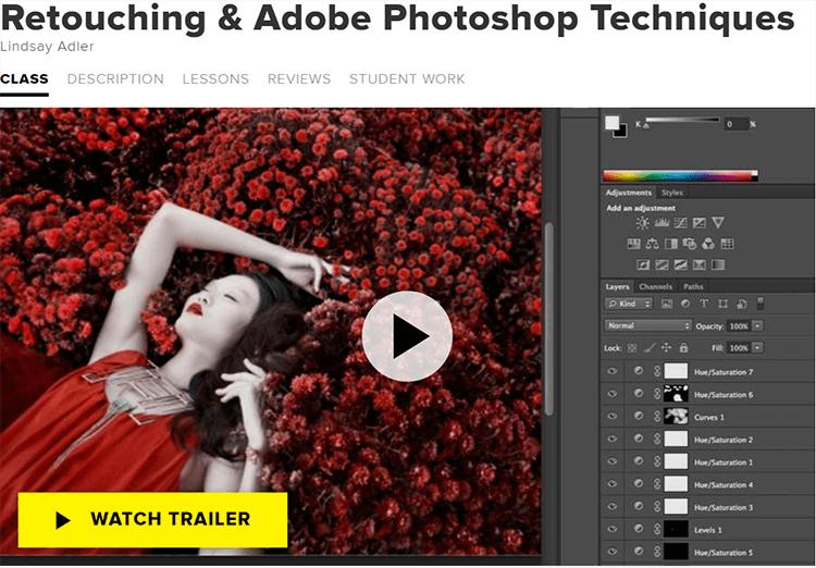 Retouching & Adobe Photoshop Techniques