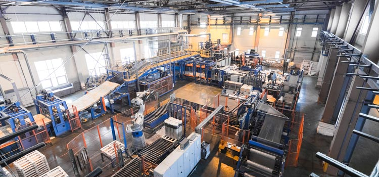 Industrial manufacturing slowdown