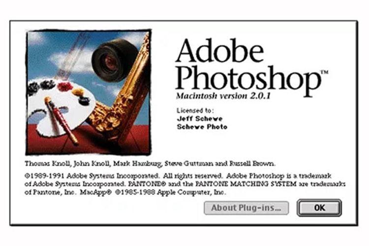 Adobe Photoshop 2.0.1