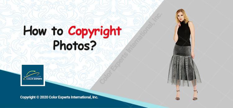 Banner on Copyrighting Photos