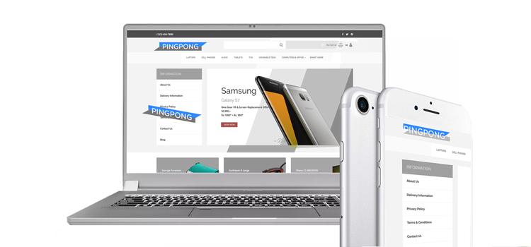 Landing Page- ecommerce design trend