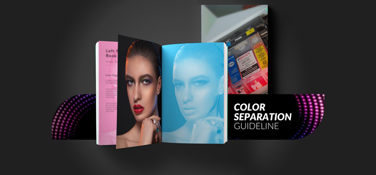 Color separation guideline