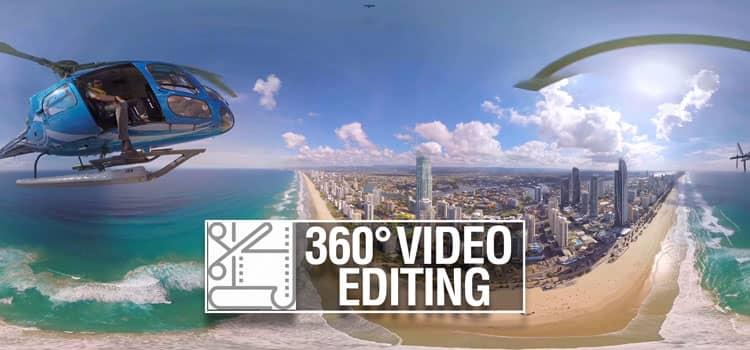 360° video editing