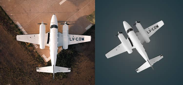 Aircraft Photo Editing