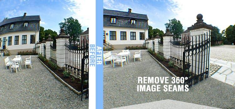 Remove 360 Image Seams