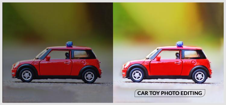 Car-toy-photo-editing