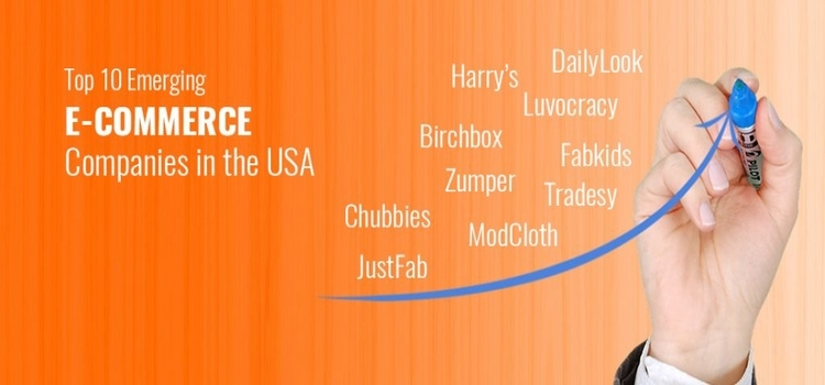 Top Emerging E-commerce Companies in the USA