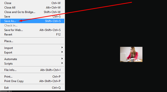Batch Edit- Saving the Resized Image