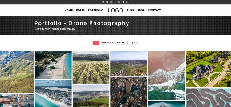 Creating your drone photography portfolio