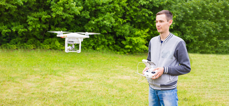 Pick up how to fly a drone