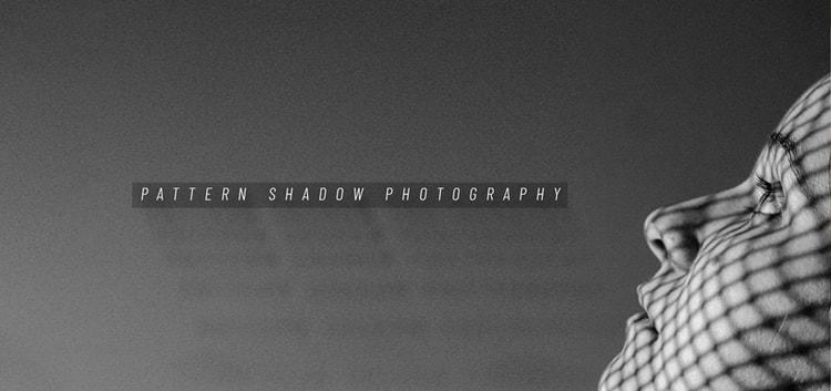 Patterned Shadow Portrait